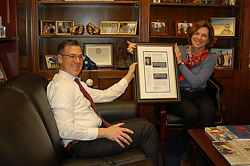 U.S. Representative Jim Banks Recognized by America's Independent Colleges and Universities